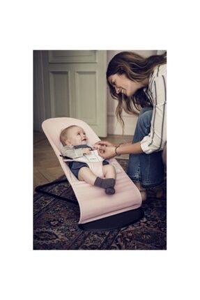 BabyBjörn Pembe Light Pink  Grey Cotton Jersey  Balance Soft Ana Kucağı