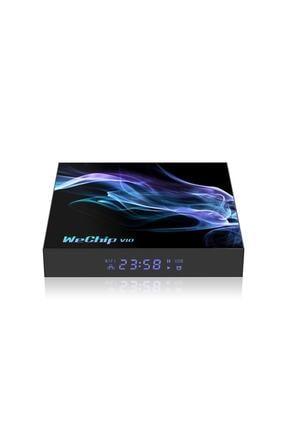 Wechip V10 Android 10.0 4gb Ram 32 Gb Rom 8k Tv Box Netflix Youtube Akıllı Tv Kutusu
