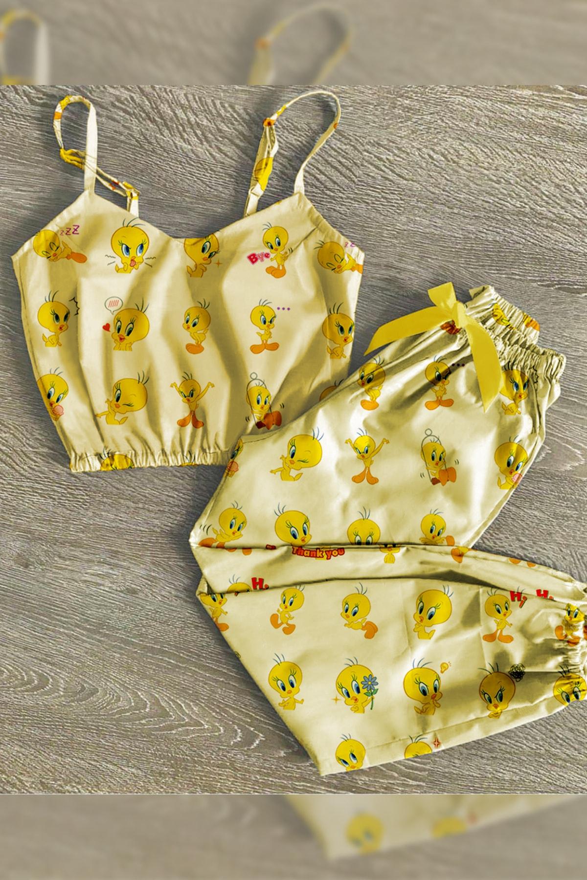 Marka Tweetty Desenli Trend Pijama Takımı 1