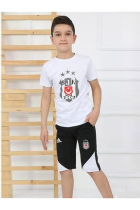 mavi boncuk kids Beşiktaş Kaprili Eşofman Takımı