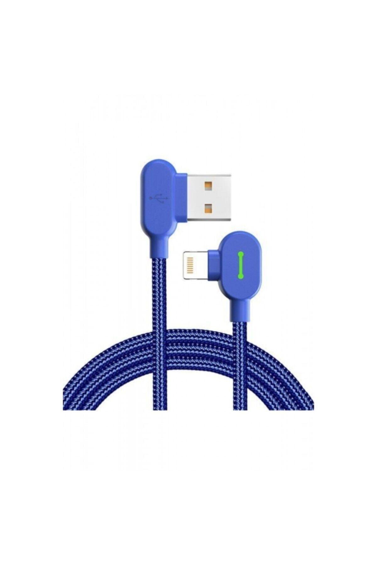 Mcdodo Mavi Iphone Uyumlu Data Ve Şarj Kablosu Ca-4678 1.8 mt 1