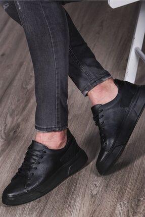 Madmext Erkek Siyah Sneaker Ms029