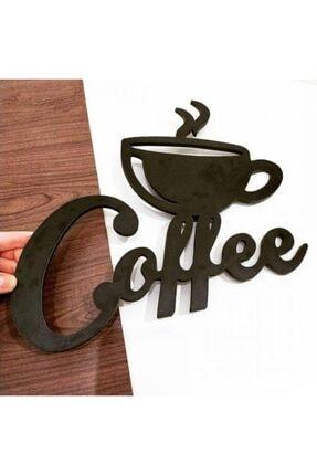 TOPRAK LAZER KESİM Coffee Mutfak Dekor Mutfak Duvar Dekorasyonu Ahşap Duvar Yazıları
