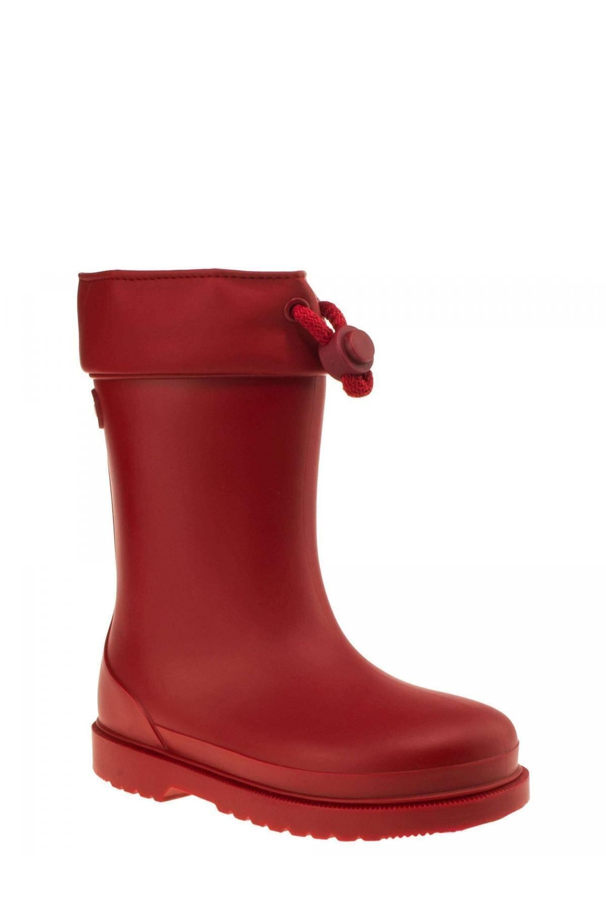 IGOR W10100 Chufo Cuello-005 Kırmızı Unisex Çocuk Yağmur Çizmesi 100386301 1