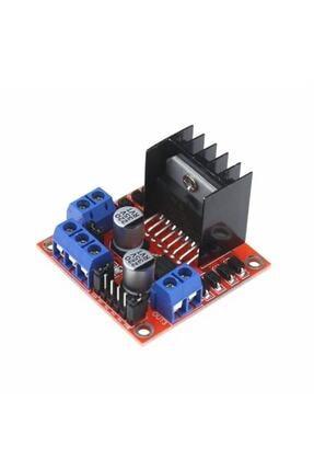 Arduino L298n Voltaj Regulatörlü Çift Motor Sürücü Kartı , Raspberry