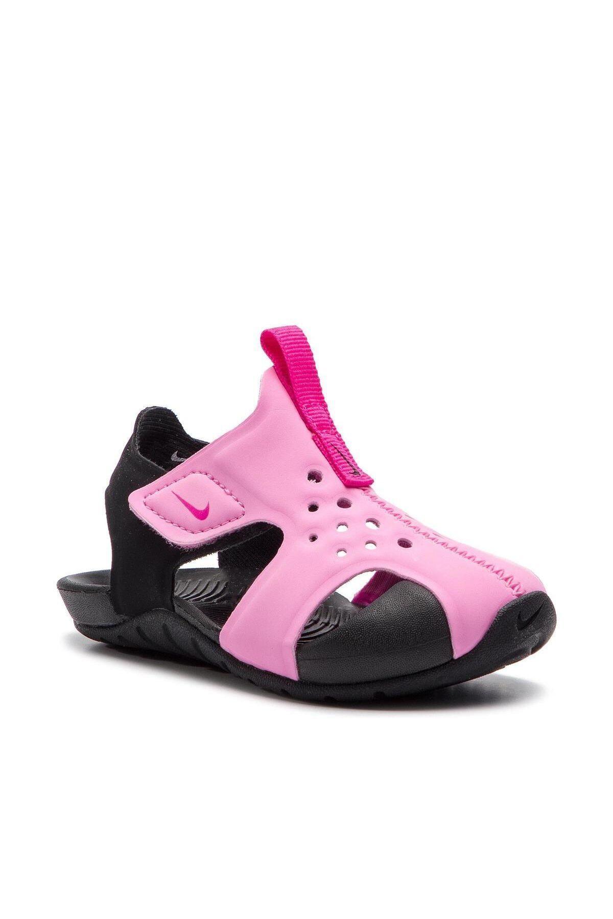 Nike Kids Pembe Sunray Protect Bebek Sandalet 1