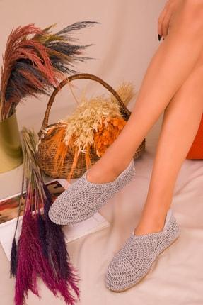 SOHO Gri Kadın Casual Ayakkabı 16218