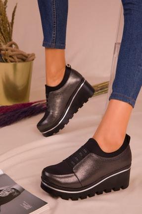 SOHO Platin Kadın Casual Ayakkabı 16227