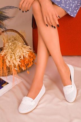 SOHO Beyaz Kadın Casual Ayakkabı 16184