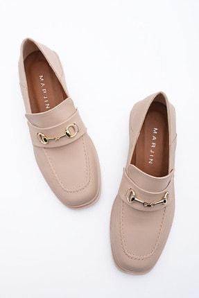 Marjin Kadın Bej Loafer Ayakkabı Races