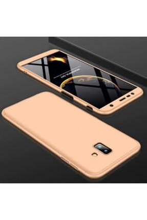 Samsung Galaxy J6 Plus Kılıf 3 Parçalı 360 Korumalı Premium Sert Kapak