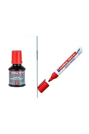 Edding Bt30 Tahta Kalemi Mürekkebi+360xl Doldurulabilir Tahta Kalemi Tx