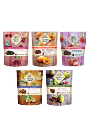 Sunny Fruit Organik Kuru Meyve 5'li Paket