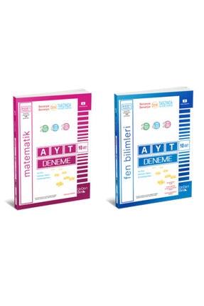 345 YAYINLARI 345 Üç Dört Beş Yayınları Ayt Matematik Ayt Fen Deneme 2021 Nisan Baskı