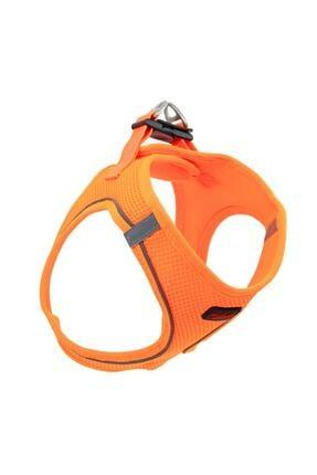 Tailpetz Airmesh Neon-turuncu Göğüs Tasması Large