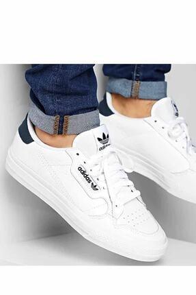 adidas Unisex Beyaz Contınental Vulc Spor Ayakkabı