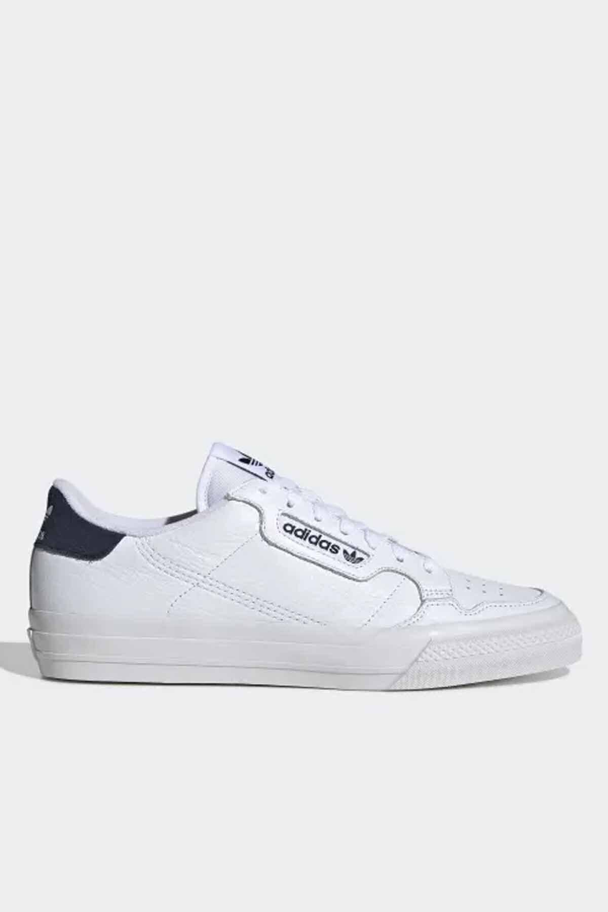 adidas Unisex Beyaz Contınental Vulc Spor Ayakkabı 2