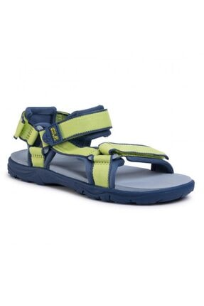 Jack Wolfskin 4040061 Seven Seas 3 K Lime/blue Kadın Sandalet