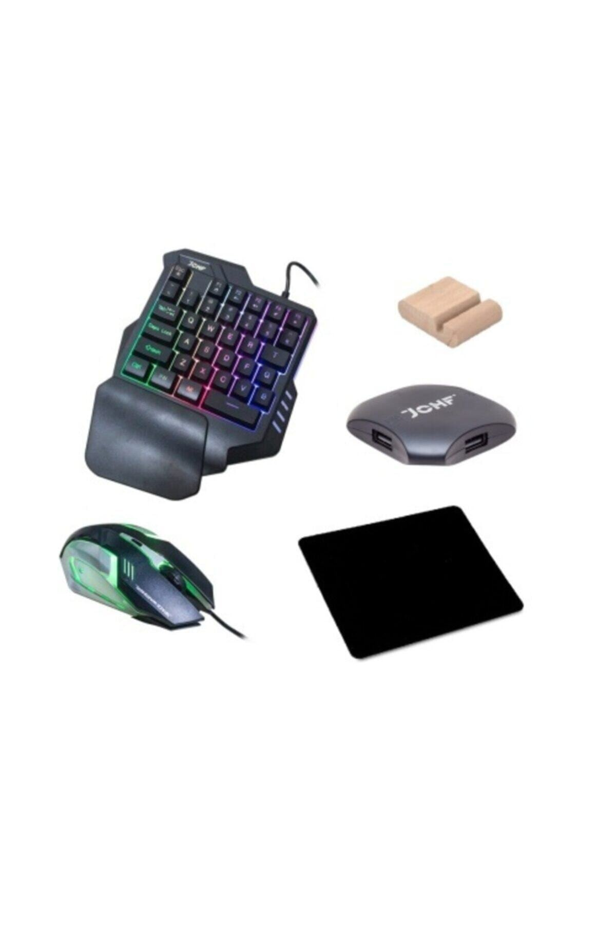 Gate Pubg Oyun Konsolu 3in1-klavye Mouse Bağlayıcı 3 Lü Set Mükemmel Kontrol Pubg Anlaşmalı 2
