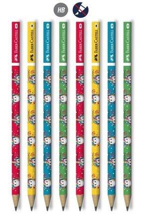 Faber Castell Unicorn Hb Yuvarlak Kurşun Kalem 6 Adet