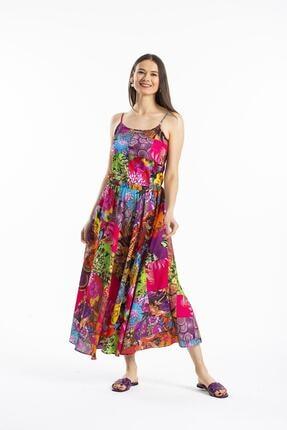 Pitti Kadın Fuşya Yeni  Elbise 51038