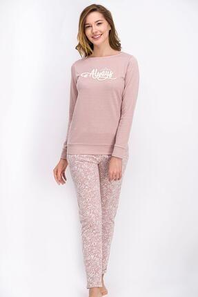 Arnetta Pembe Lace Always Kadın Pijama Takımı