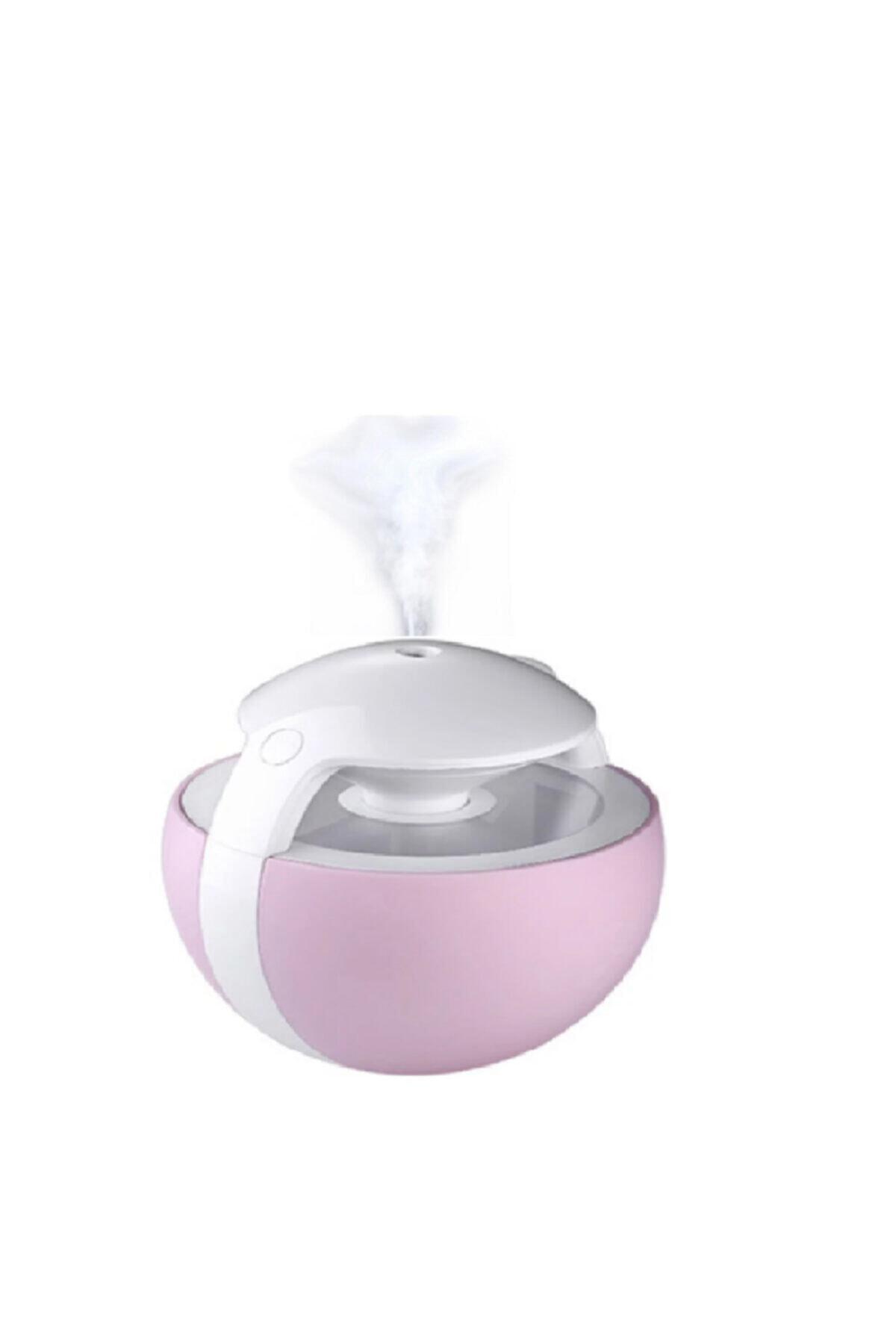 Kakusan Işıklı Su Hazneli Hava Nemlendirici Buhar Makinesi Aroma Nemlendirici 450 ml 1