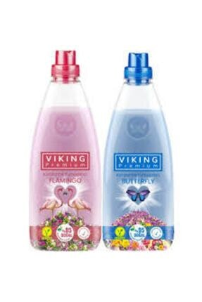 Viking Premium Konsantre Yumuşatıcı 1200 ml Flamingo Butterfly