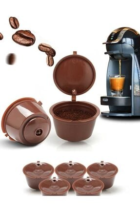 SONREYON Dolce Gusto 3 Adet Kahve Kapsülü (tekrar Kullanılabilir)