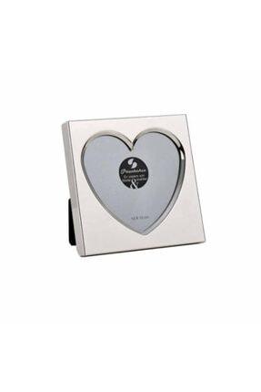 Paşabahçe Kalp Gümüş Çerçeve 10x10cm