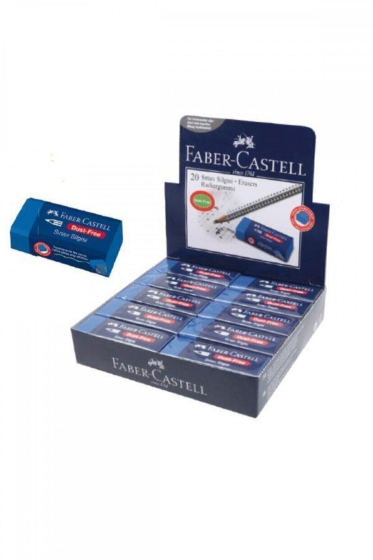 Faber Castell Büyük Boy Sınav Silgisi (10 Adet) 1