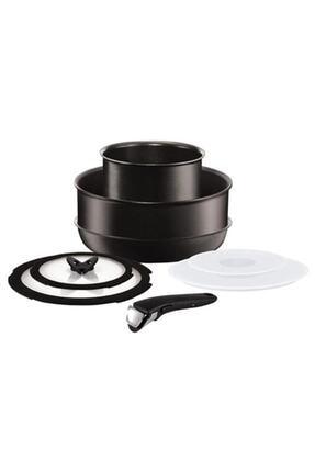 TEFAL Titanium Ingenio Expertise 8 Parça Orta Boy Set 2100103639
