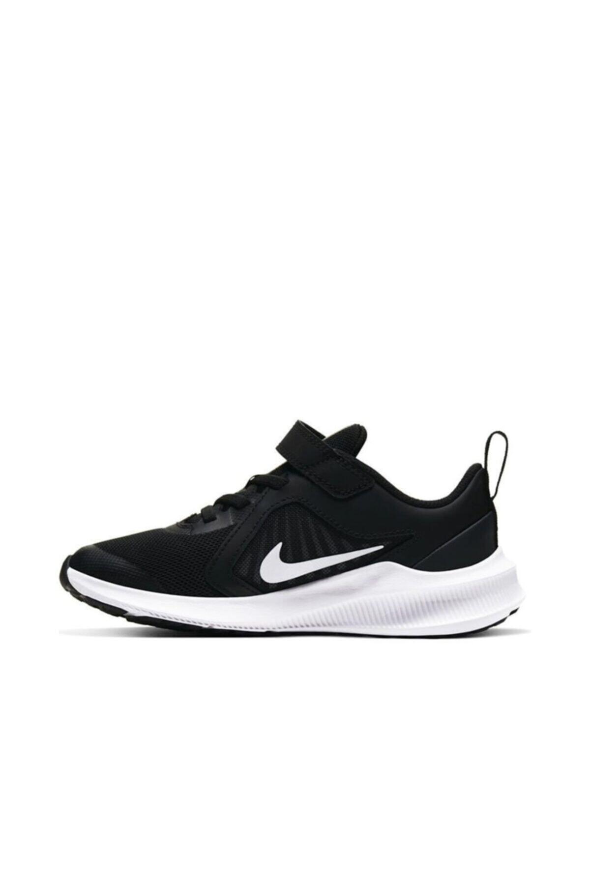 Nike Unisex Çocuk Siyah Downshifter 10 (psv) Spor Ayakkabı Cj2067-004 2
