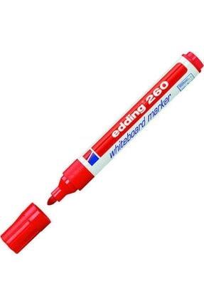 Edding 260 Beyaz Tahta Kalemi - Kırmızı