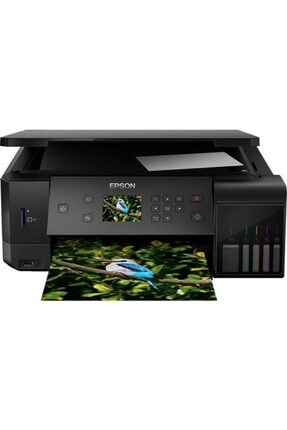 EPSON L7160 A4 Mürekkep Tanklı Yazıcı(5 Renk) +tarayıcı+ Fotokoi