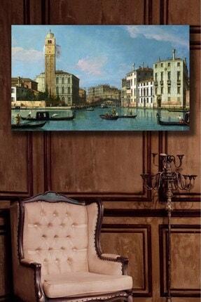 Hediyeler Kapında Studio Of Canaletto Kanvas Tablo
