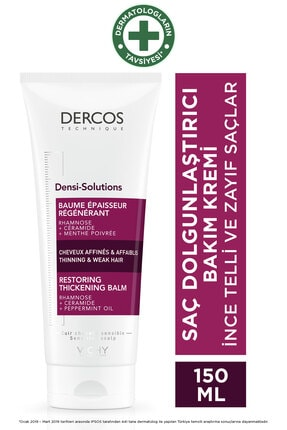 Vichy Dercos Densi Solutions Dolgunlaştırıcı Saç Kremi 200 Ml