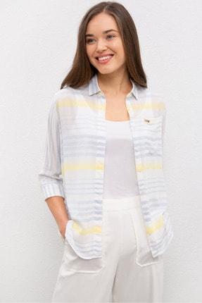 U.S. Polo Assn. Mavı Kadın Gömlek