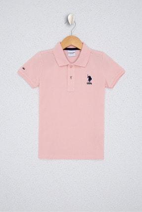 U.S. Polo Assn. Pembe Erkek Çocuk T-Shirt