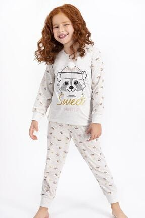 ROLY POLY Rolypoly Sweet Winter Kremmelanj Kız Çocuk Pijama Takımı