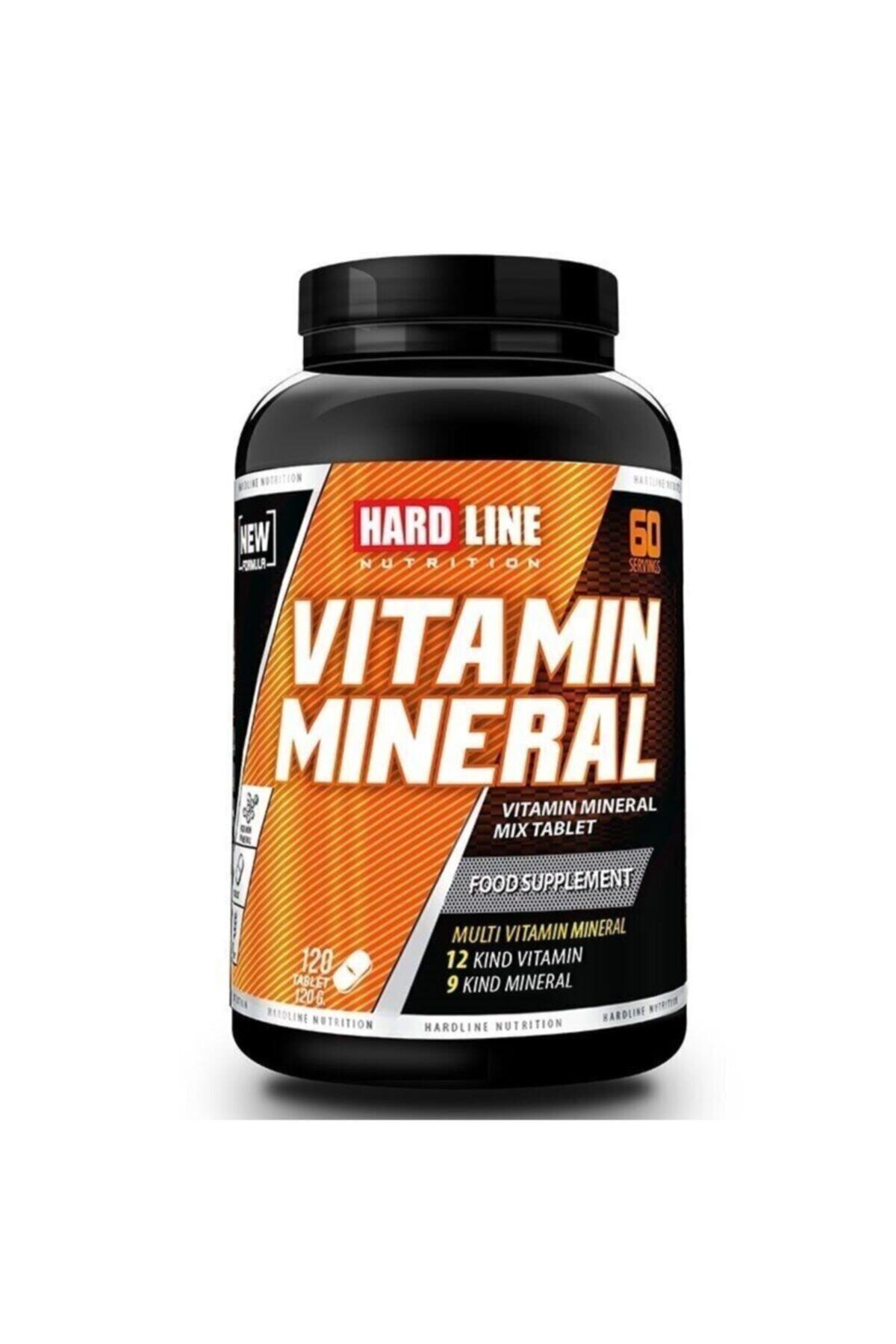 Hardline Nutrition Hardline Vitamin Mineral 120 Tablet 1