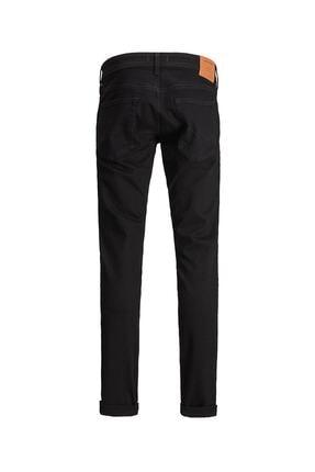 Jack & Jones Erkek  Siyah Jean Pantolon 12182691