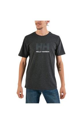 Helly Hansen Hh Logo Erkek T-shirt Ebony