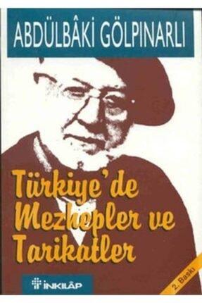 İnkılap Kitabevi Türkiye'de Mezhepler Ve Tarikatler