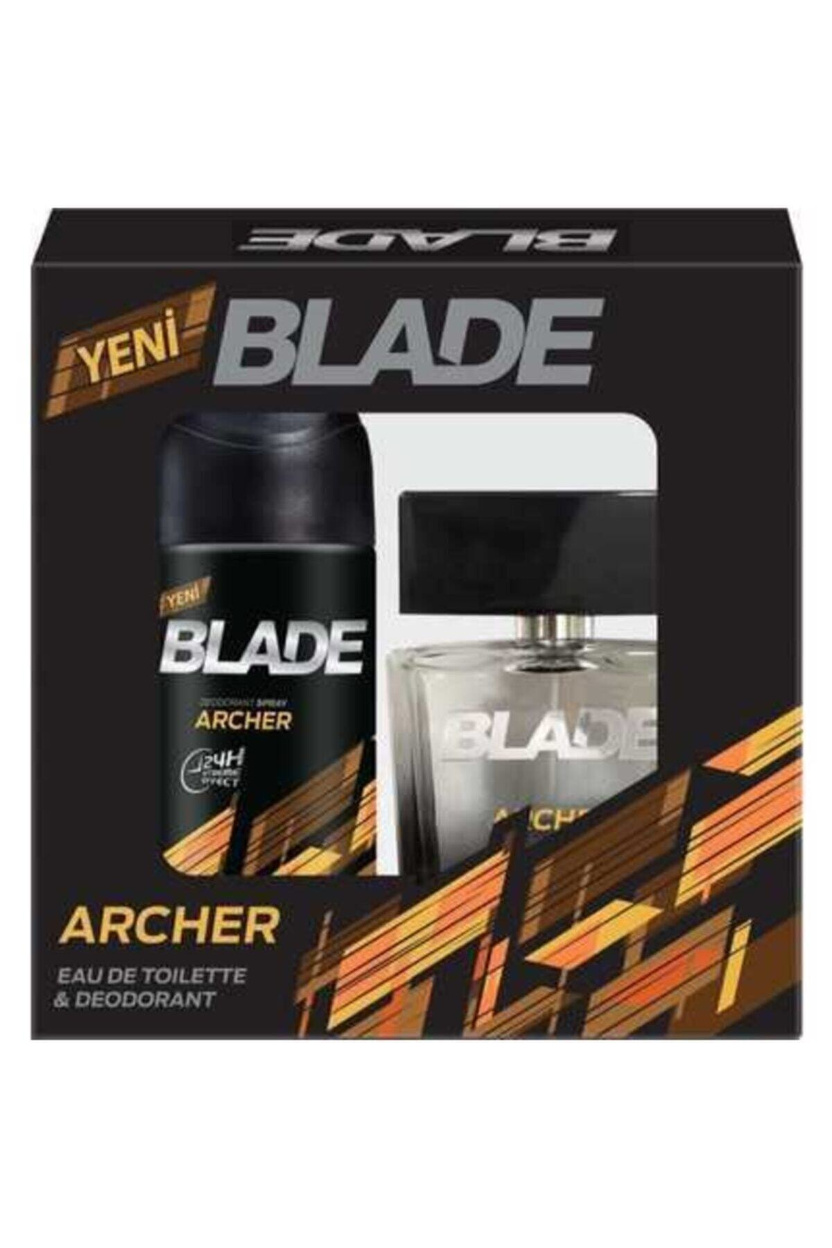 Blade Man Archer Edt 100 ml Erkek Parfüm + 150 ml Deodorant Set 1