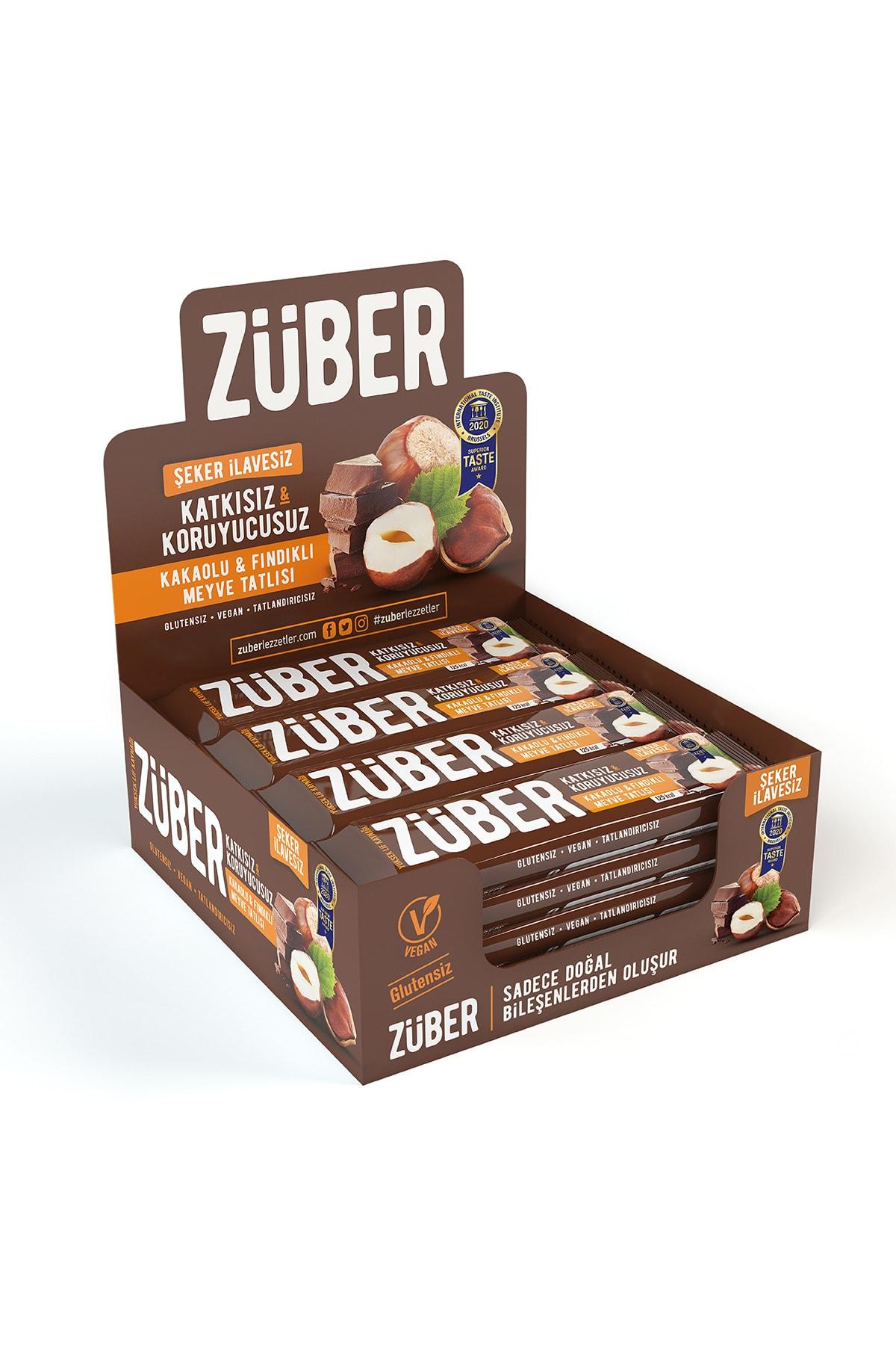 Züber Fındık ve Kakaolu Meyve Tatlısı - 40 g x 12 Adet 1