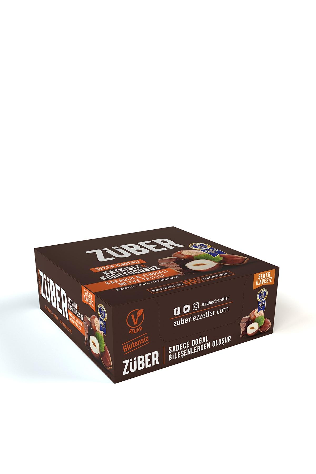 Züber Fındık ve Kakaolu Meyve Tatlısı - 40 g x 12 Adet 2
