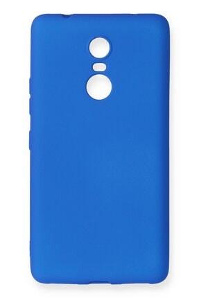 NewFace Lenovo K6 Note Kılıf Premium Yumuşak Soft Silikon Kılıf - Mavi