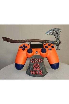3 boyutlu dükkan God Of War Axe Konsol Kol Standı Ps5 Ps4 Ps3 Xbox