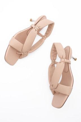Marjin Kadın Parmak Arası Topuklu Sandalet Eltazbej